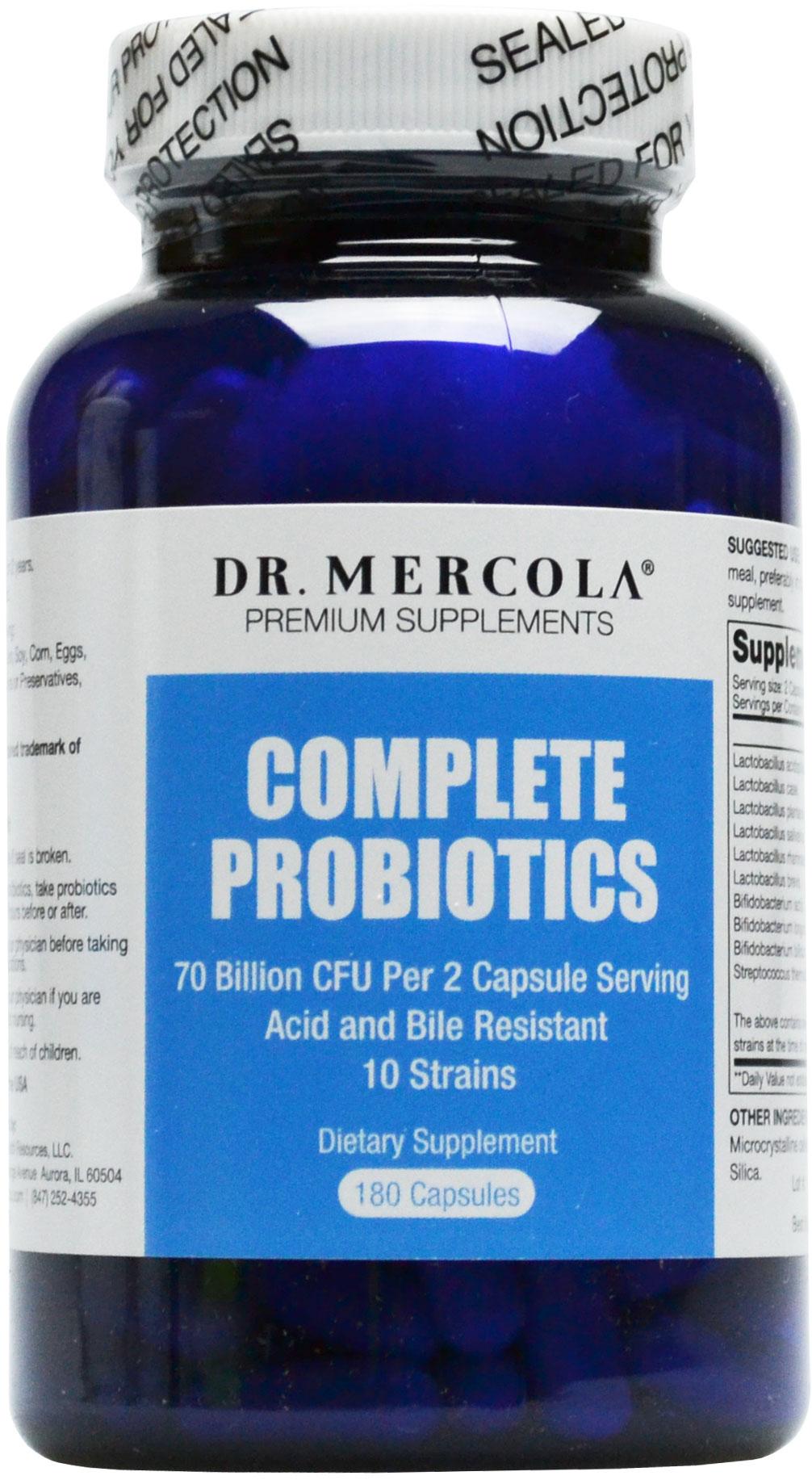 Dr Mercola Complete Probiotics Wat Is De Beste Probiotica